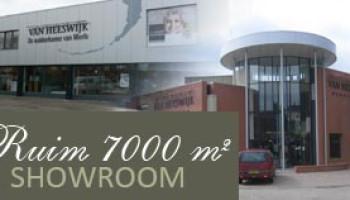 Ruim 4000 vierkante meter showroom