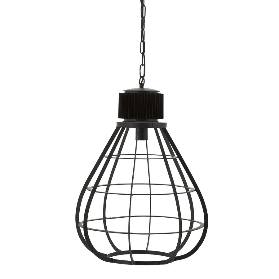 hanglamp moonlight large metaal zwart