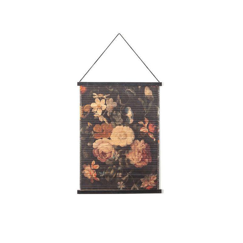 wanddeco miyagi bloemen klein