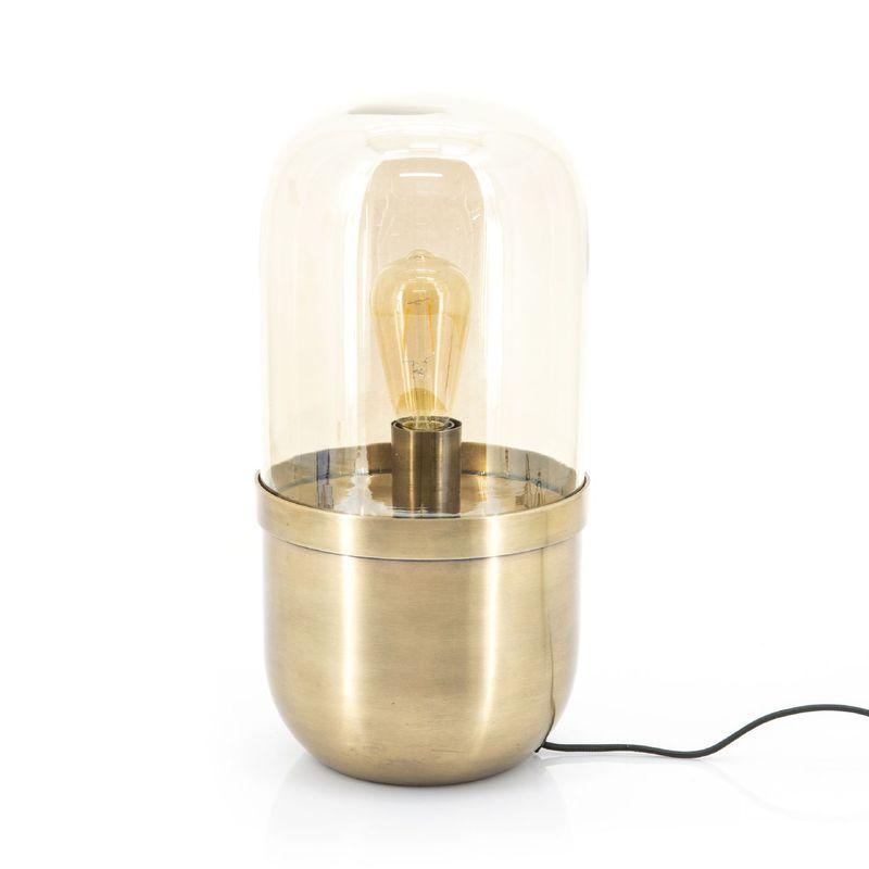 tafellamp maverick brons