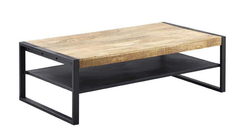 salontafel slider rechthoek mangohout