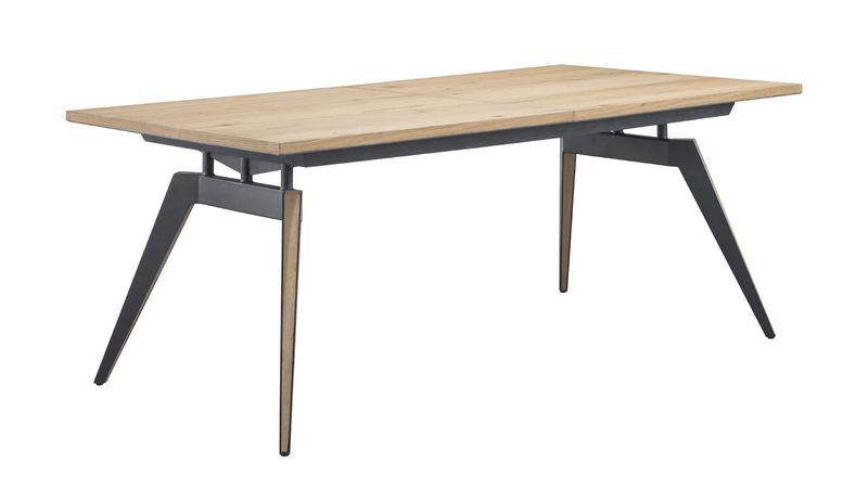 eettafel pento rechthoek eikenhout 240x100cm