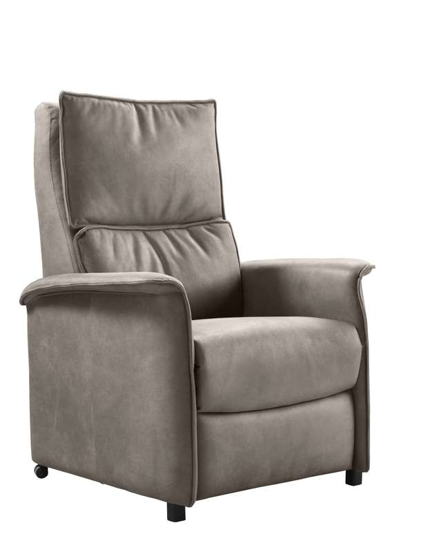 Relaxfauteuil Heleen L taupe